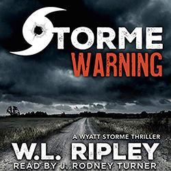 Storme Warning audiobook cover